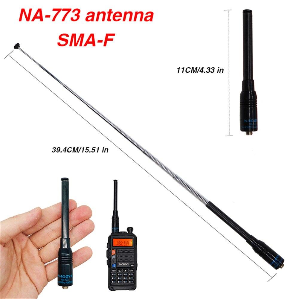 NAGOYA VHF//UHF Dual Band 144//430MHz Ham Radio Handheld 10W Antenna NA-775