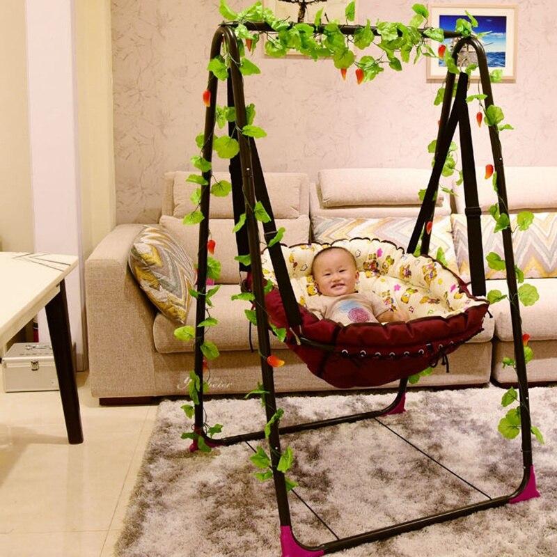 Baby Hammock Children's Indoor Cradle Chair Dormitory Balcony Chair Single Outdoor