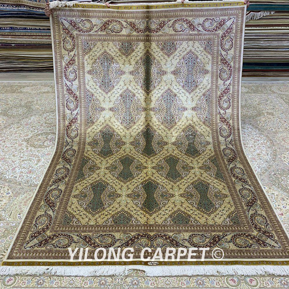 Yilong 5,5'x8 'Περσικό χαλί ορθογώνιο - Αρχική υφάσματα