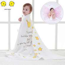 70% bamboo+ 30% cotton baby Swaddle Wraps Cotton Baby Blankets Newborn 100% bamboo quilt baby muslin blanket(China)
