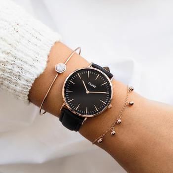 New simple fashion quartz watch ladies watch ladies quartz watch clock fashion diamond female quartz watch zegarek damski