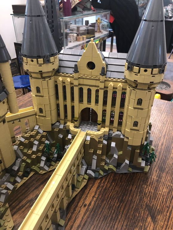 Harri Hogwart Magic Castle Film Piton Silente della Scuola di Magia Modello 6742Pcs Mattoni Building Block Giocattoli Per Bambini Film - 6