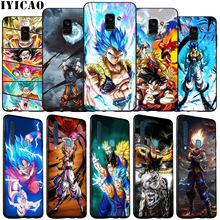 Iyicao dragon ball z gt super goku macio silicone caso do telefone para samsung galaxy j8 j7 duo j4 j6 plus a2 núcleo prime 2018(China)