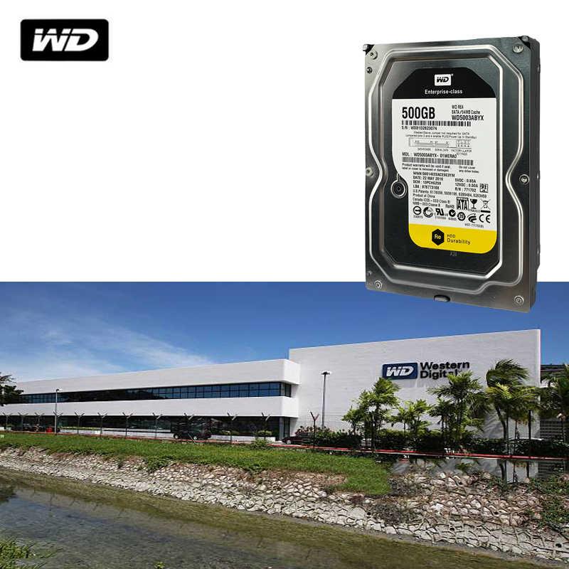 WD 500G czarny dysk twardy gra komputerowa gamer gaming mechaniczny czarny dysk szeregowy port 7200 do 64M
