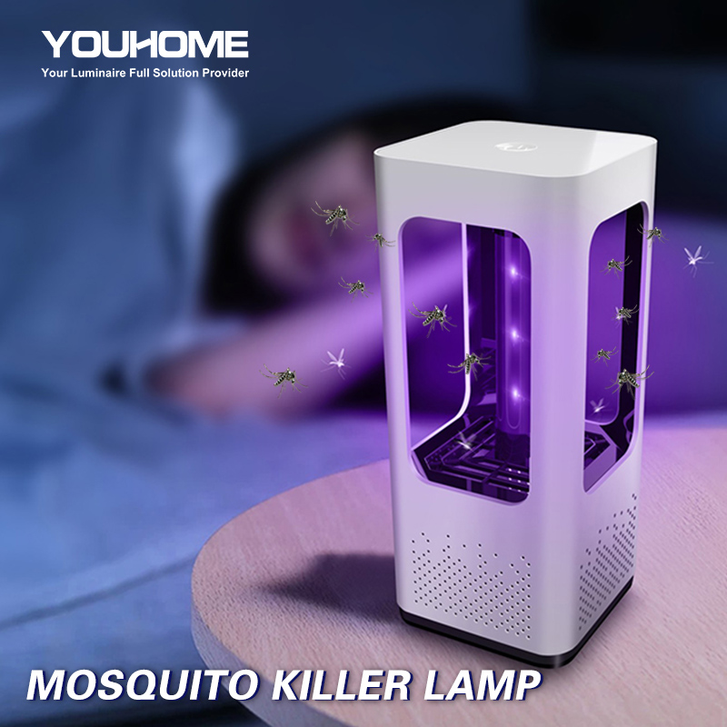 Led Mosquito Killer Lamp 03 UV Night Light No Noise No Radiation USB Electric For Home Décor Light Insect Killer Flies Trap Lamp