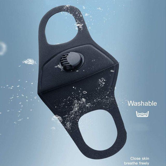 Dust Protection Masks Dropship Reusable Anti Mask Anti Pollution Mouth Unisex Muffle Valve Respirator Masks 1