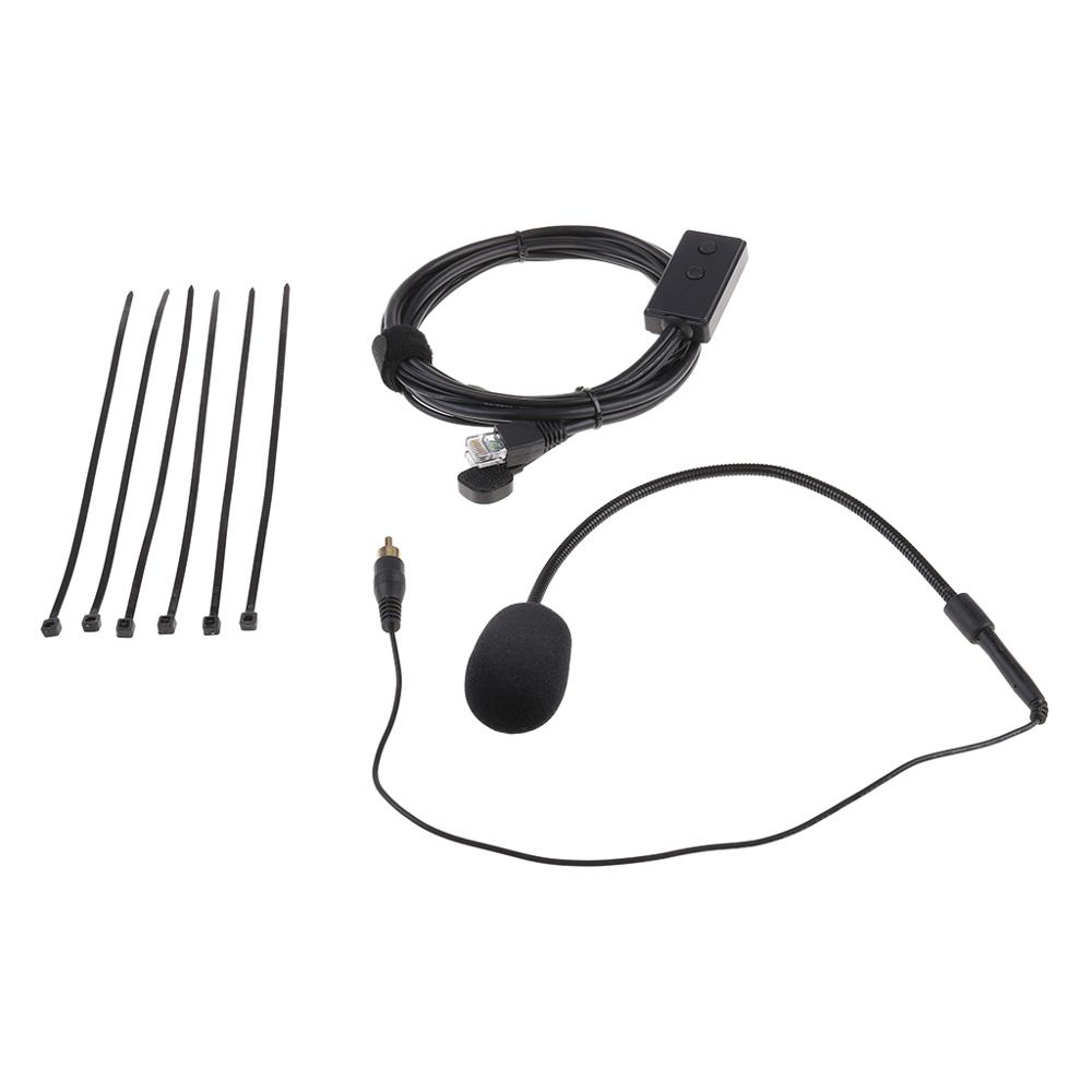 Hands-free Microphone 8 Pin Mic For I-COM IC2200H IC2720 IC2820 Vehicle Car Radio