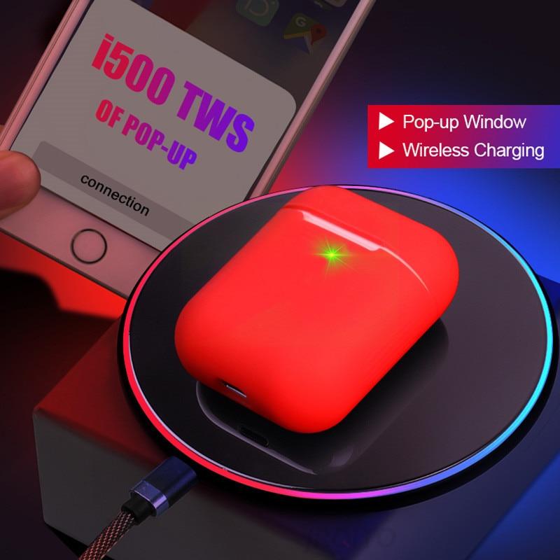 I900TWS 1:1 réplique Air2 Pop up utilisation séparée sans fil écouteur QI sans fil charge PK w1 H1 puce i60 i200 i30 i80 i500 i1000tws - 3