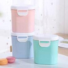 Коробка для грудного молока портативный кормящих большой емкости бак для хранения ребенка отдельно упакованный чехол рисовой муки небольшие герметичные контейнер для молока