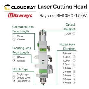 Image 5 - Ultrarayc BM109 Raytools Fiber Cutting Head 0 1.5kW Auto Focusing for Carbon Steel Cutting