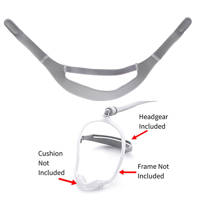 Headgear Full Mask Replacement Part CPAP Head Band for DreamWear Nasal Mask 4