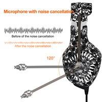 "pc עם סטריאו 3D Surround משחק עבור PS4 PC Gaming אוזניות 3.5 מ""מ אוזניות אוזניות גיימר עם מיקרופון הפחתת רעש (3)"