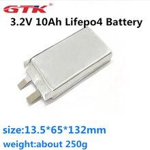 Аккумуляторная батарея GTK Pouch LFP 3,2 в 10 Ач, литиевая батарея LiFePo4, мягкий пакет для Lifepo4 аккумуляторной батареи, DIY и батарея для электровелосип...