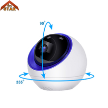 1080P Wifi IP Camera Cloud Tacking Two-way Audio IR Night Vision Video Camera Wireless Security Surveillance CCTV Camera
