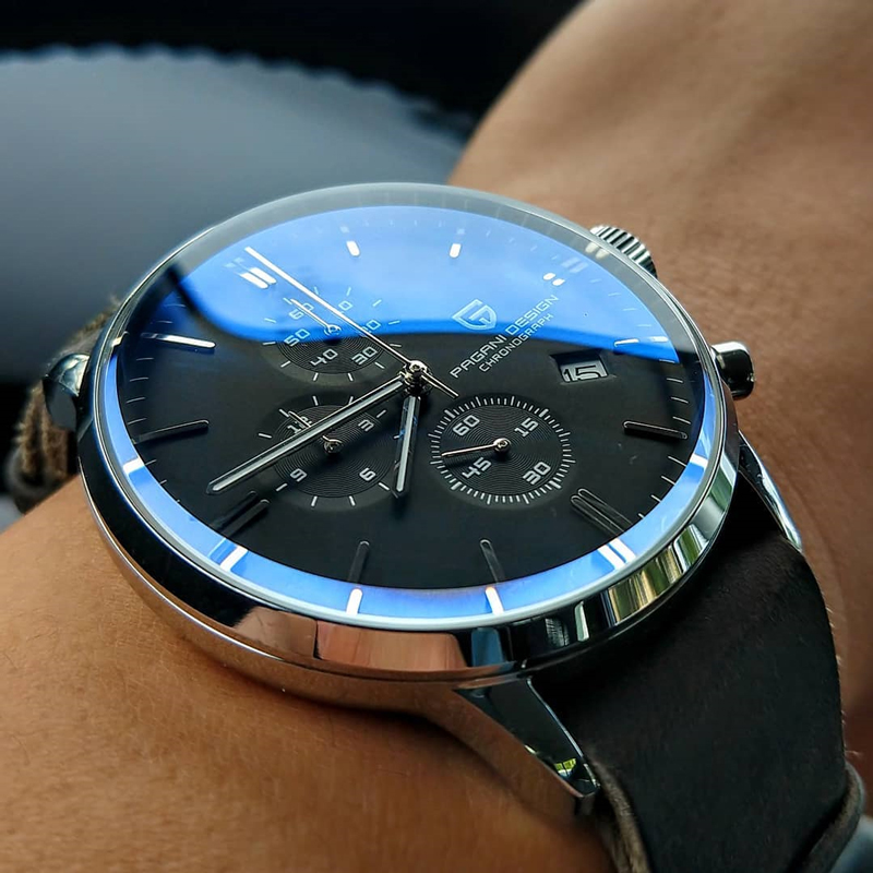 2020 New PAGANI DESIGN Brand Luxury Watches for men automatic Watch Date Waterproof Chronograph VK67 Movement Relogio Masculino|Quartz Watches| - AliExpress