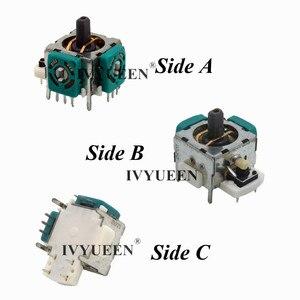 Image 4 - IVYUEEN 10 ensembles pour Xbox 360 contrôleur 3d analogique Stick Joystick capteur potentiomètre et vignettes capuchon poignée pièces de réparation