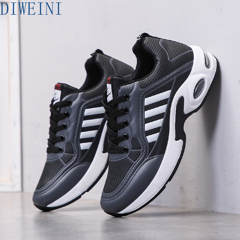 DIWEINI 2020 New Ad Hot Sale Fashion Men Shoes Brand New Fashion Mens Sneakers Breathable Lace Up Casual Shoes Man PO88