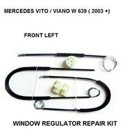 Voor Mercedes Vito/Viano W 639 Venster Regulator Reparatie Kit Front-Links Van 2003
