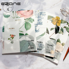 Buy EZONE Flower Letter Paper+Envelope Sets Line Inner Page Writing Paper Gift Envelope For Friends School Office Stationery Supply directly from merchant!