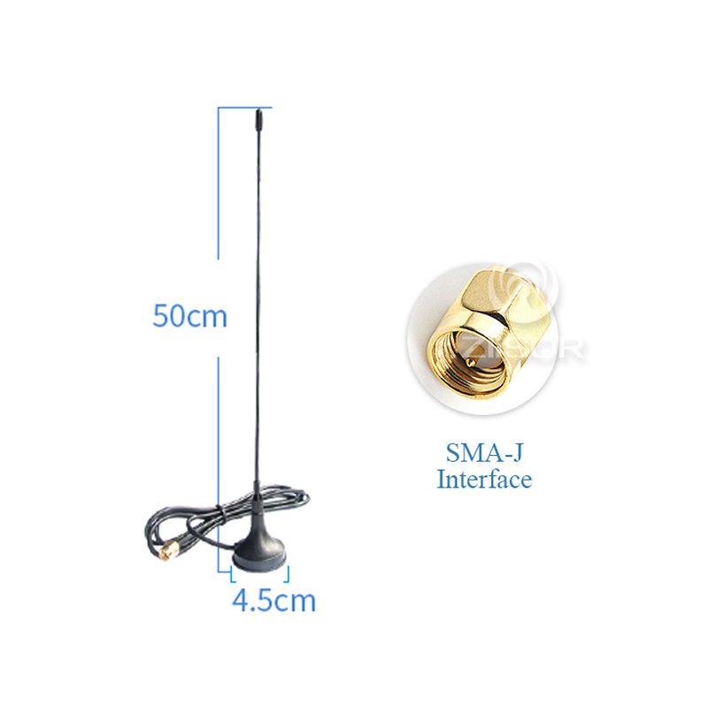 Image 2 - 169MHz Magnetic Base Antenna SMA Male High Gain Omni Antena Wireless Module Data Transmission Outdoor Aerial Z33 B169SJ20-in Communications Antennas from Cellphones & Telecommunications