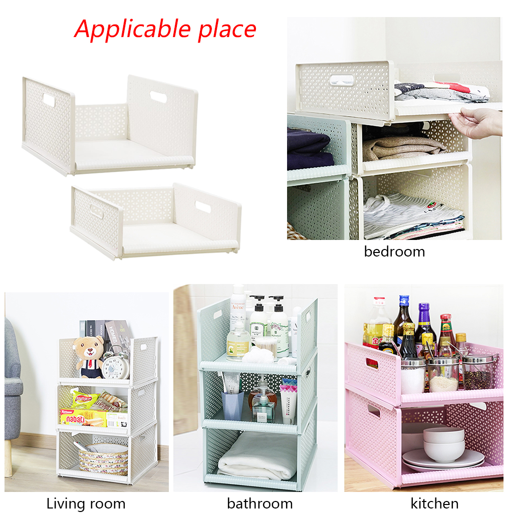 Slide Plastic Storage Drawers For Clothes Sundries Living Room