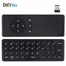 Waterproof T10 Mini USB 2.4GHz Wireless Air Mouse with Gyroscope and Keyboard  for TV Box New стоимость