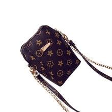 Luxury Handbags Women Bags Designer Casual Shoulder Women Bag  Chain Leather Mobile Phone Bag Mini Crossbody Bag Women Bag недорого
