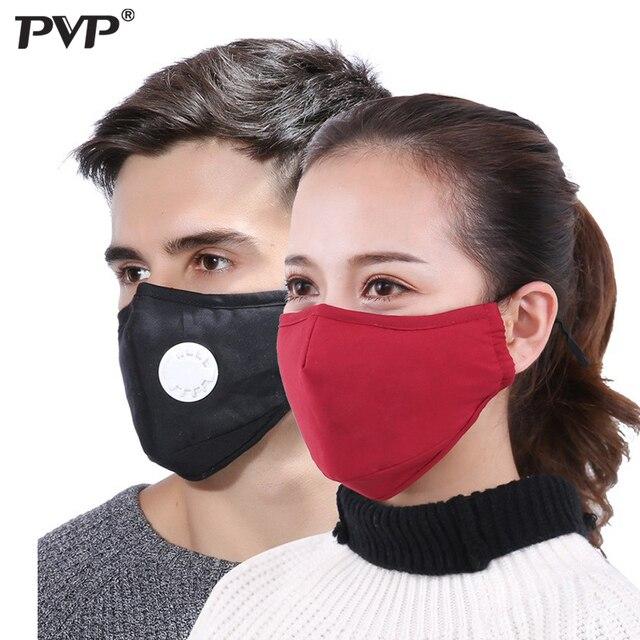 1PCS אנטי זיהום מסכת אבק הנשמה רחיץ לשימוש חוזר מסכות כותנה יוניסקס פה מופל עבור אלרגיה/אסטמה/נסיעות/רכיבה על אופניים