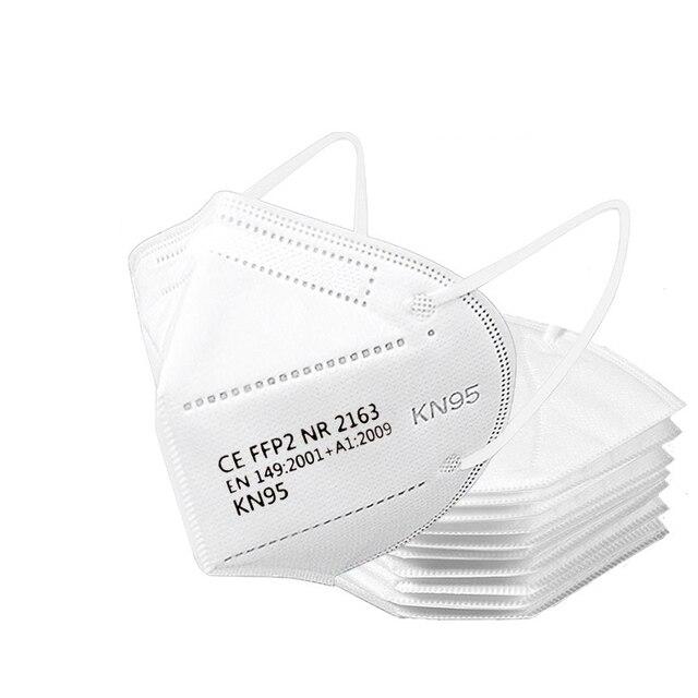 100pcs ffp2 face mask KN95 facial masks filter maske Mouth mask FFP2mask KN95mask anti dust mask mascaras mascarilla ventilation 6