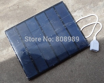 3.5W 6V Solar Charger Solar Cell Polycrystalline Solar Panel Charger DIY Solar Mobile Charger Wholesale 10pcs/lot Free Shipping