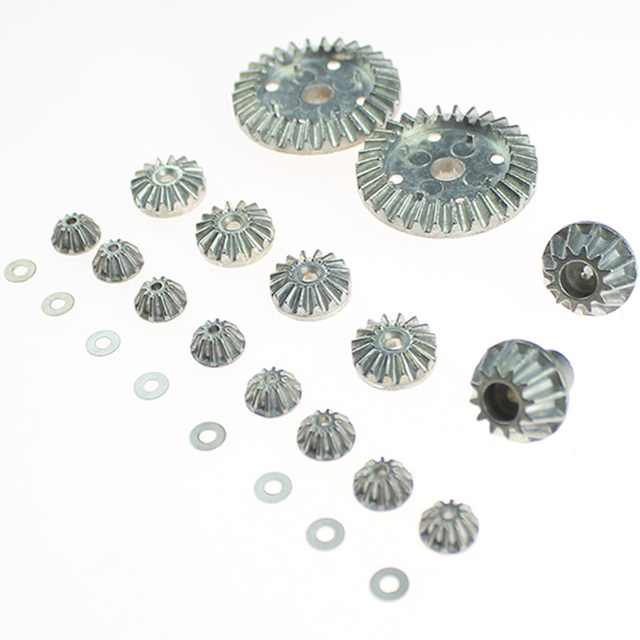 16Pcs12T 24T 30T Motor Driving Gear Planet Gear Differential Gear Combo Set For Wltoys 12428 12423 12628 Rc Car Model Parts Moto