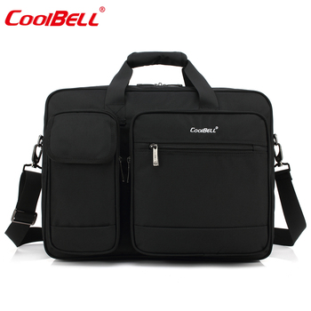 2019 Hot Sale Factory direct selling  Laptop Bag Business Male Waterproof  Shockproof Briefcase Single Shoulder Bag Custom