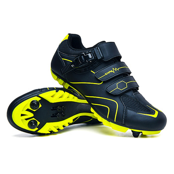 цена 2020 New Mountain Bike Cycling Shoes Outdoor Non-Slip MTB Bicycle Shoes Self-Locking Breathable Bicycle Cleat Shoes Sneakers Men онлайн в 2017 году
