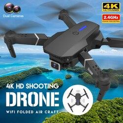 E525 PRO Mini Drone 4K HD Double Camera WiFi Fpv Foldable Quadcopter Rc Helicopter Child Dron Gift