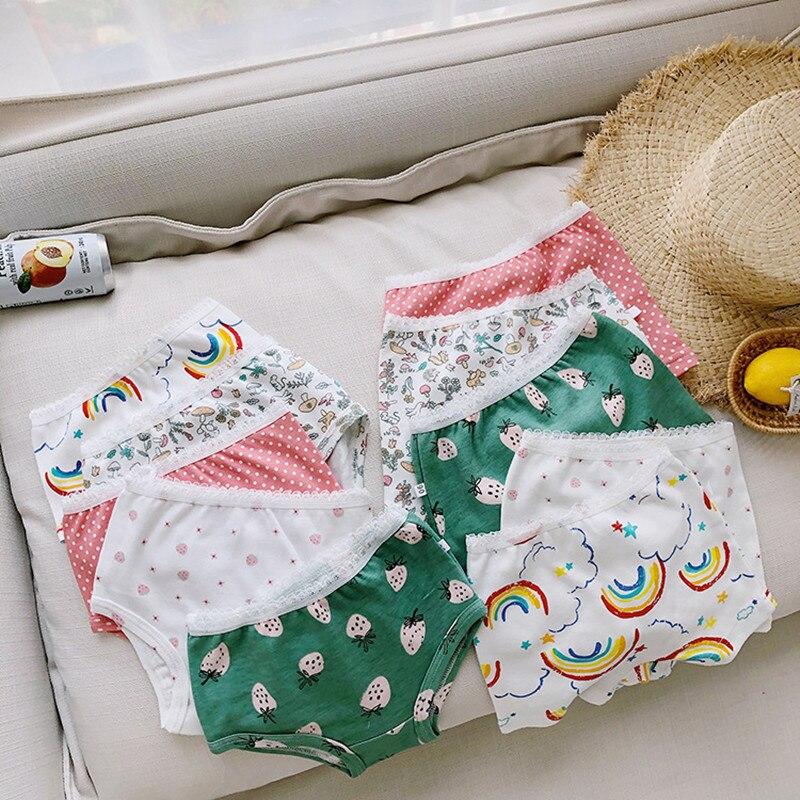 6PC Kids Girls Princess Cotton Underwear Undies Briefs Panties Bottoms 3-8yr