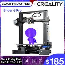 CREALITY 3D Ender 3 Pro Drucker Verbesserte Magnetische Bauen Platte Lebenslauf Stromausfall Druck Masken KIT Mean Well Liefern
