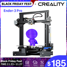 CREALITY 3D Ender 3 Pro Printer Upgraded Magnetic Build Plate Resume Power Failure Printing Masks KIT Mean Well Supply