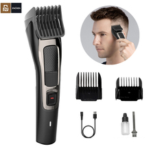 Oryginalny Youpin ENCHEN Sharp3S maszynka do włosów szybkie ładowanie mężczyźni elektryczne cięcie maszyna profesjonalne niski poziom hałasu Hairdress