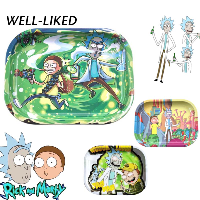 2020 New Style Cartoon Tray Tobacco Roll Tray Plate Vanilla Spice Ashtray Tobacco Tray Tobacco Grinder Accessories Gifts For Men