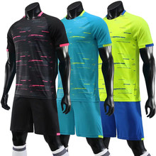 2020 Nieuwe Voetbalshirts Sets Survetement Voetbal Kit Volwassen Mannen Sport Training Trainingspak Aangepaste Club Futbol Jerseys Pak(China)