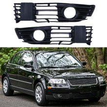 цена на Left Right Car Front Bumper Grille Fog Light Lower Grill Cover for Passat B5.5 Sedan/Variant 2001 2002 2003 2004 2005