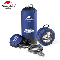NatureHike Clearance Price Big Discount 11L Outdoor Portable Inflatable Camping Shower Pressure Shower Water Bathing Bag