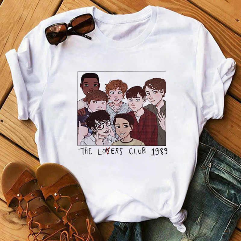 Harajuku Die Verlierer Club T Hemd Frauen Ullzang 90s Grunge T-shirt Korean Style Fashion T-shirts Lustige Tops Tees Weiblich shirts