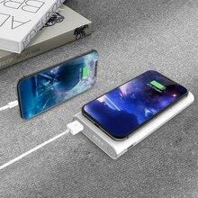 Batterie dalimentation 10000mah Nillkin 2 en 1 Qi chargeur sans fil universel Portable batterie dalimentation pour Poco X3 pour iPhone 12/X/8 Note 20 Ultra