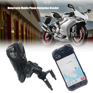 Motorcycle USB Mobile Phone Charger Stand Holder GPS Navigation Bracket For Ducati 899 959 1199 1299 PANIGALE 2012-2018 2017