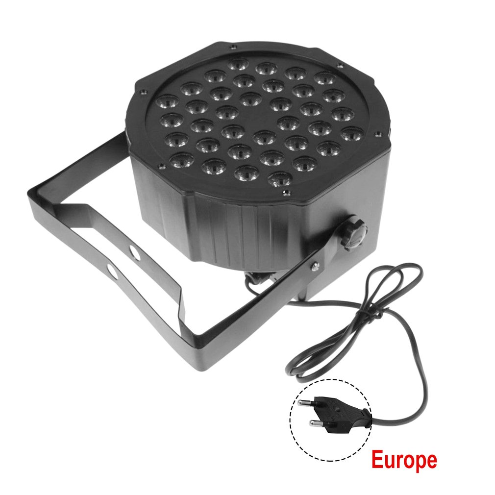 ICOCO 36 LEDs Laser Stage Light For Stage Club Pub Ballroom Large Scale Concert EU Plug/US Plug PAR Light Drop Shipping Hot Sale