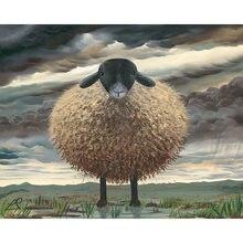 Diy картина по номерам Овец Комплект маслом овечка на стену