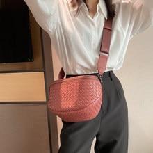 2021 New Handbag Women Sheepskin Genuine Leather Shoulder Bags Fashion High Quality Wild Female Zipper Designer Crossbody Bag