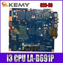 Akemy para C20-30 cpu i3 placa-mãe apto para lenovo aiai0 LA-B691P c2030 tudo-em-um placa-mãe