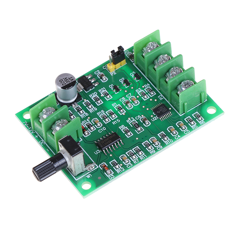 1PC High Quality 5V 12V Brushless Dc Motor Driver Controller Board For Hard Drive Motor 3/4 Wire